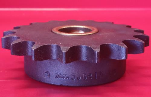 Martin 50BR17 7/8 Bronze Bushed Idler Sprocket