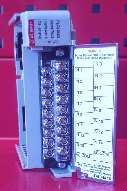 Allen Bradley Compact I/O 1769-IA16 Series A Input Module