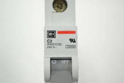 Cutler Hammer WMS1C02 Circuit Breaker