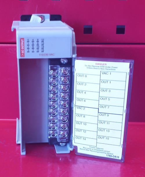 Allen Bradley Compact I/O 1769-OA16 Series A Output Module