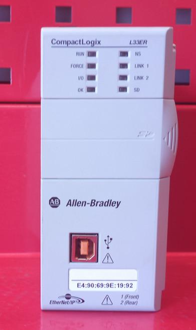 Allen Bradley 1769-L33ER Series A CompactLogix 2MB Memory Controller