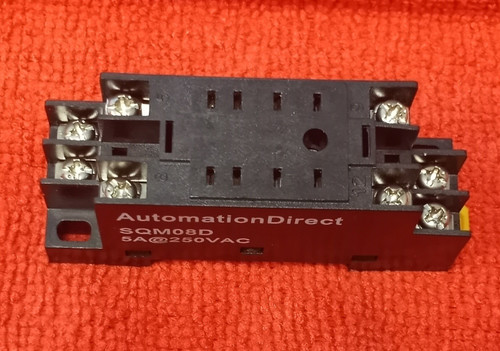 Automation Direct SQM08D Relay Socket