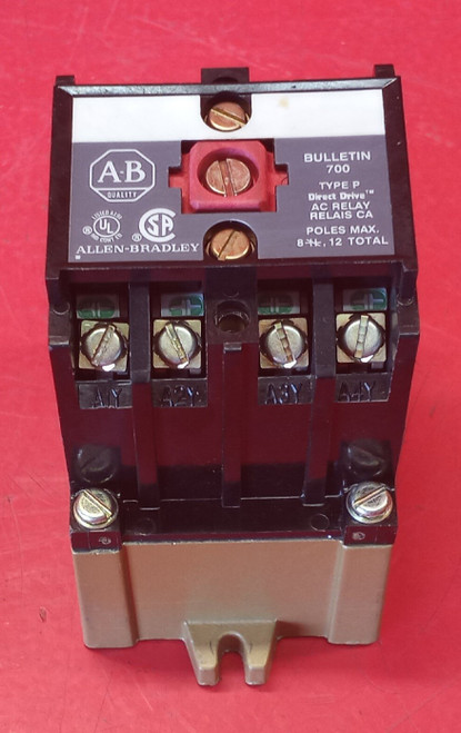 Allen Bradley 700-P400A1 Control Relay Series A (Used)
