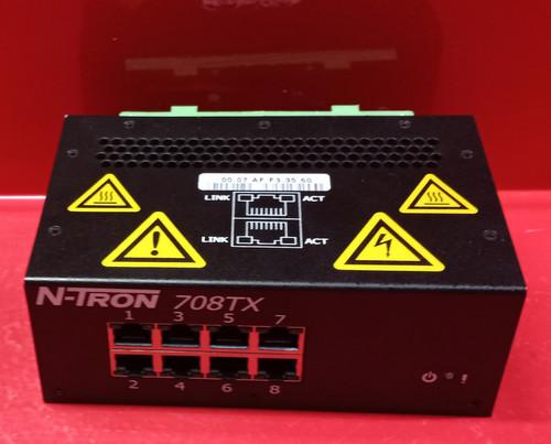 N-Tron 708TX Ethernet Switch