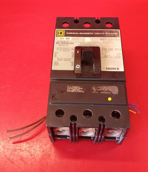 Square D KAL362001590 Series 2 Thermal Magnetic Circuit Breaker
