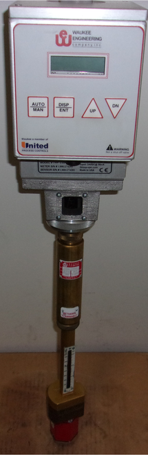 Waukee Valve-Tronic Plus Electronic Flow Meter - Methanol