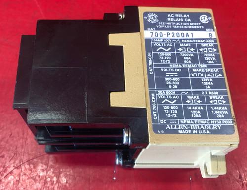 Allen Bradley 700-P400A1 Controls Relay Series B