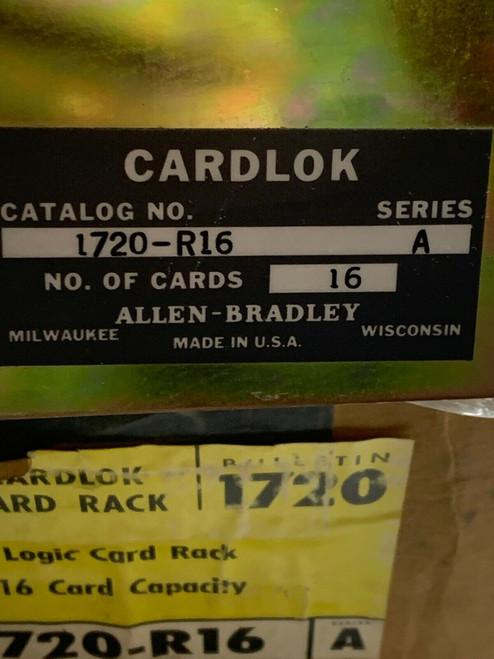 Allen Bradley 1720-R16 logic Card Rack - 16-Slot Rack