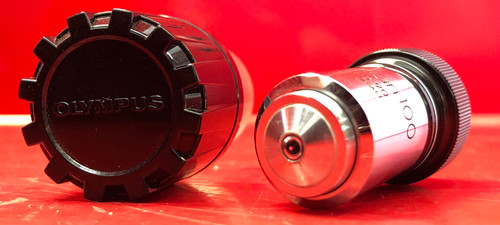 Olympus M Plan 100 0.90 Microscopic Lens