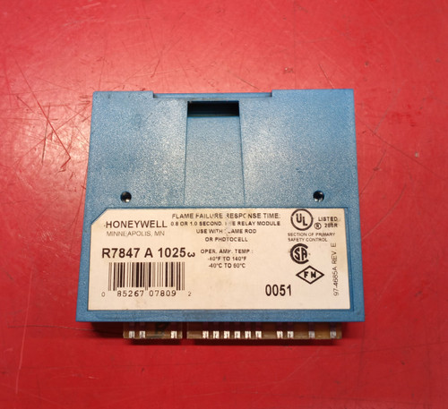 Honeywell Rectification Flame Amplifier R7847A1025