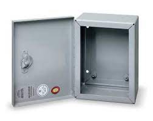 "Wiegmann N1C060604 Enclosure Steel 6""x6""x4"""