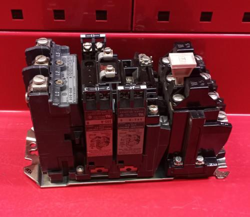 Allen Bradley 509-BOD w/3 Aux Contacts & W45 Heaters Starter (Used)