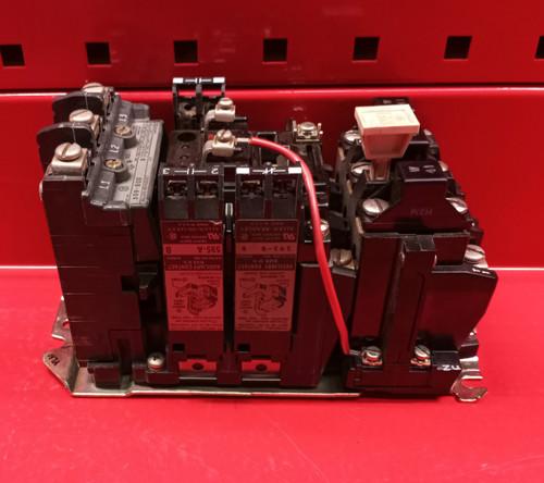 Allen Bradley 509-BOD w/3 Aux. Contacts & W41 Heaters Starter (Used)
