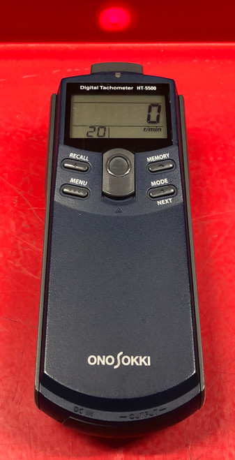 Ono Sokki HT-5500 Digital Tachometer High Quality Precision Tool
