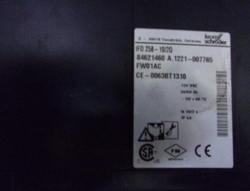 Kromschroder IFD 258-10/2Q Automatic Burner Control Units