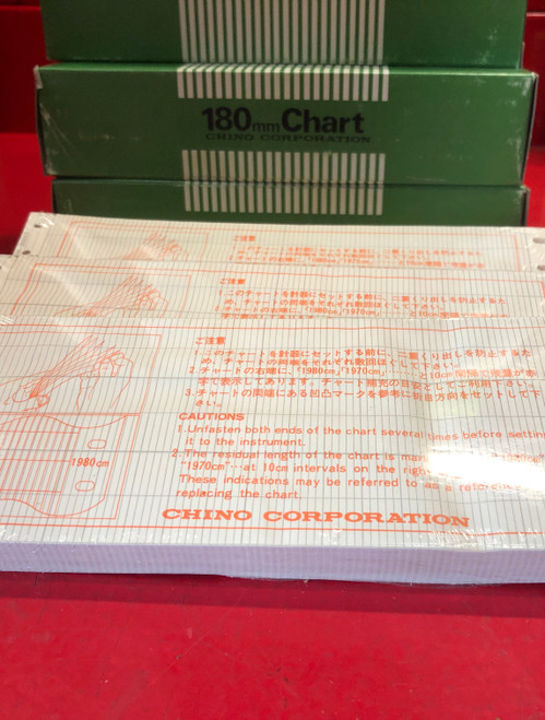 Chino Corporation EH05052 180mm Chart Recorder Paper