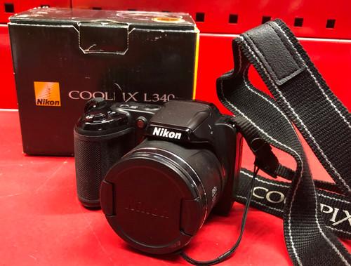 Nikon L340 Coolpix Digital Camera