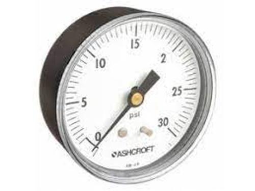 Ashcroft 25W1005PH02B30#  0-30 PSI Pressure Gauge