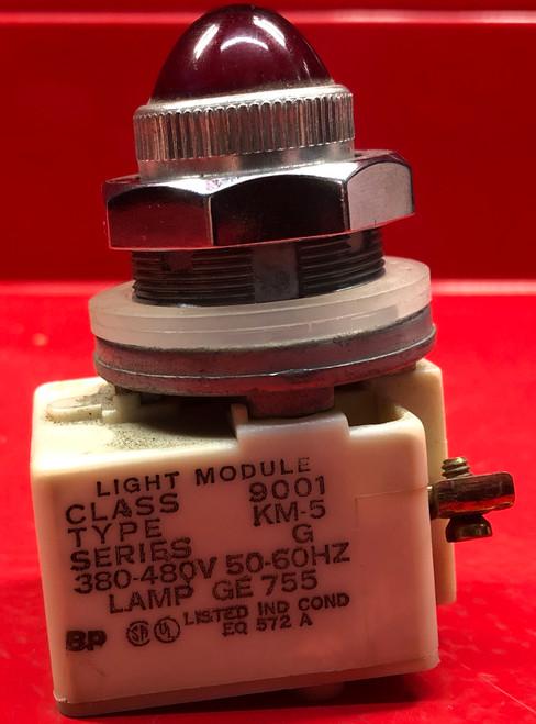 Square D 9001KM-5G Pilot Light