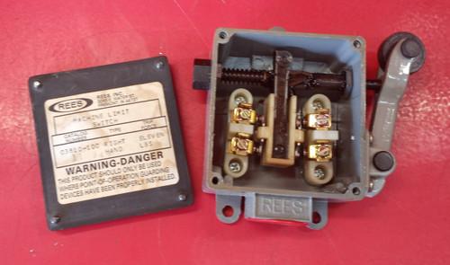 REES 03810-100 Machine Limit Switch