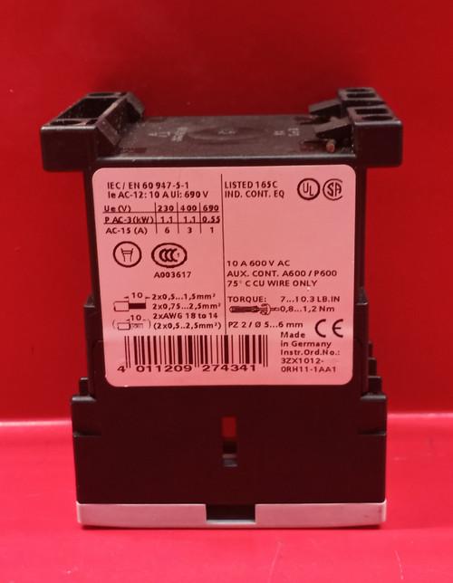 Siemens 3RH1140-1BB40 Auxiliary Contact