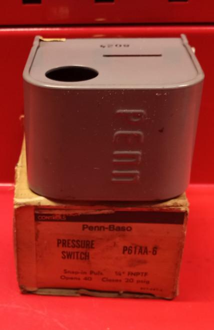 Penn-Baso P61AA-6 Pressure Switch