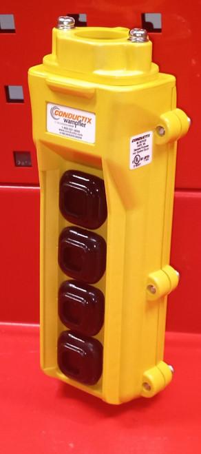 Conductix Wampfler 80 Series 4 Button Hoist Push Button Switch
