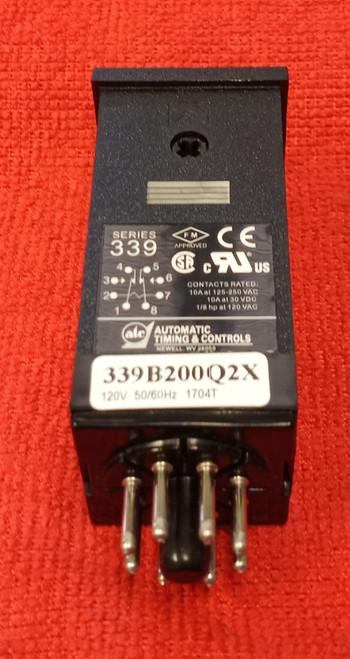 ATC 339B200Q2X Timing Relay Series 339