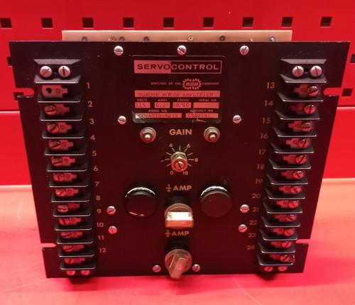 Oilgear Company SC-AU20-003X Torque Motor Amplifier
