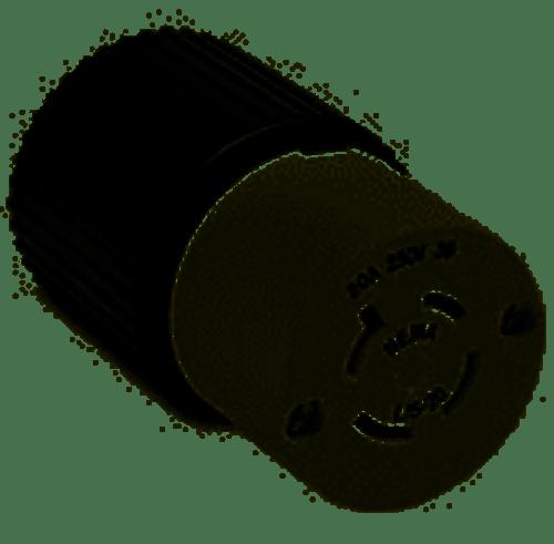 Leviton 2343 Locking Connector L8-20R