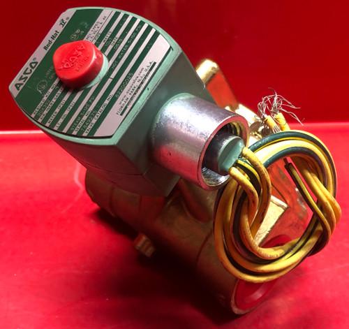 "Asco 8220G025 1"" NPT 2-Way Solenoid Valve, 13.5 CV (120/60VAC)"