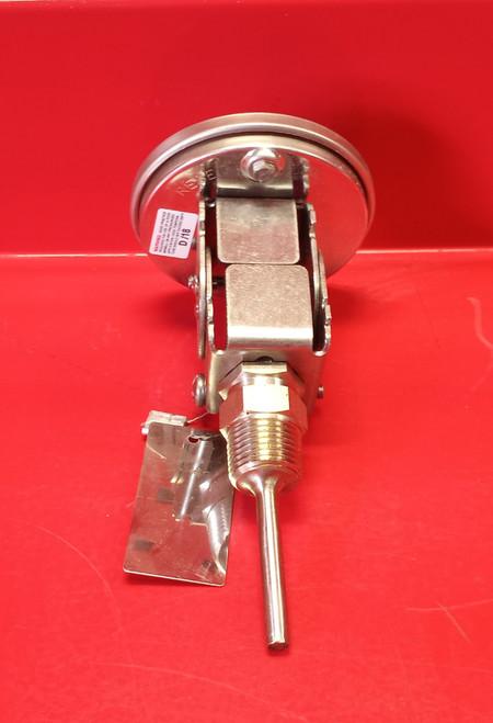 "Ashcroft 30EI60E025 0 /200° F 3"" Bimetal Dial Thermometer"