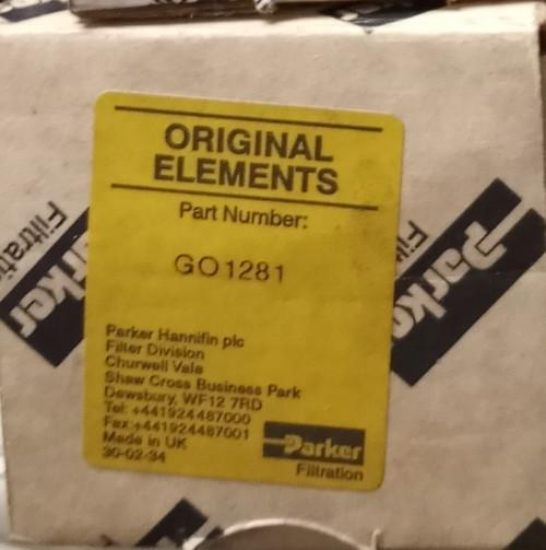 Parker GO1281 Filter Element