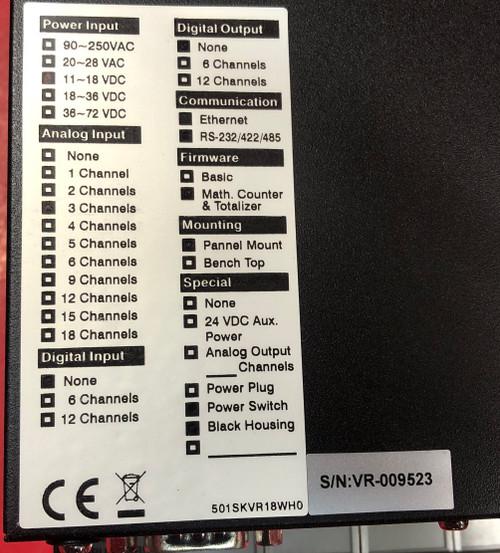 Future Design Controls DR18 Paperless Recorder