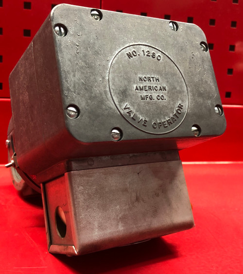 North American Manufacturing 1180-4 2 Position Motorized Butterfly Air Valve