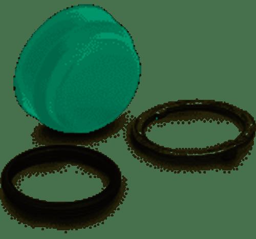 Square D 9001KU5 Green Push Button Boot