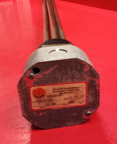 Tempco TSPO2108 Screw Plug Immersion Heater