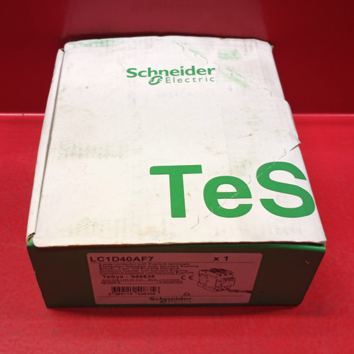 Schneider Electric LC1D40AF7 3 Pole Contactor
