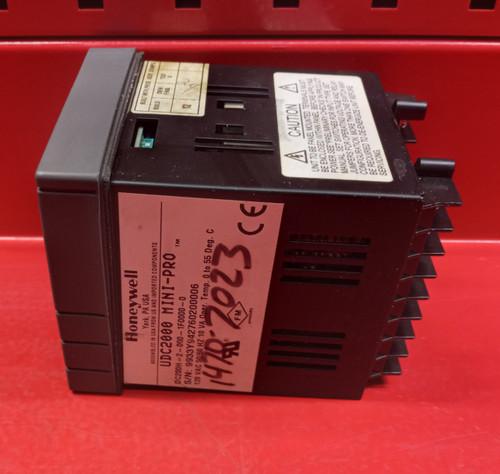 Honeywell UDC2000 (DC200H-2-000-1F0000-0) Mini-Pro Temperature Controller