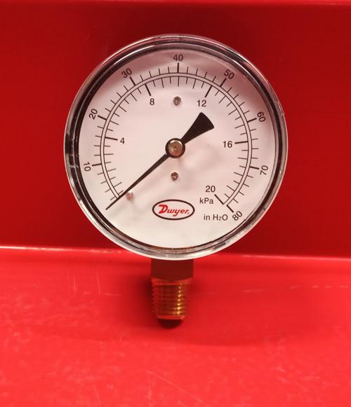 Dwyer LPG4-D8522N Pressure Gauge