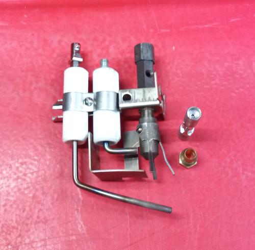 Honeywell Q179A1118 LPG Pilot Burner w/Flame Rod and Electrode