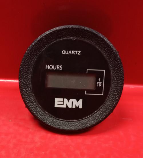ENM 2PAX4 T1160EPBG Quartz Flush Round Digital Hour Meter