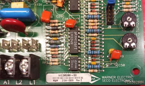Superior Electric 36269-00 Se2000 Seco Dc Drive Control Pcb Circuit Board