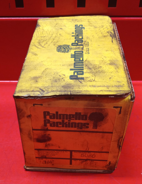 """Palmetto Packings 5080 1/4"""" 25FT.  Flexible Graphite Packing"""