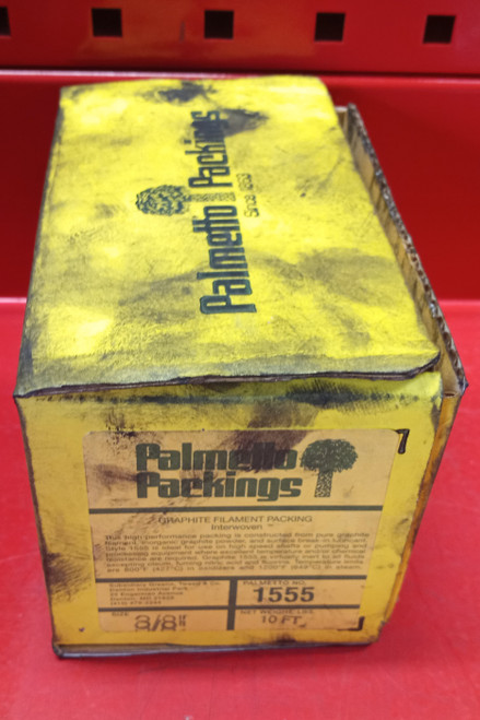"""Palmetto Packings 3/8"""" 10FT. 1555 Graphite Filament"""