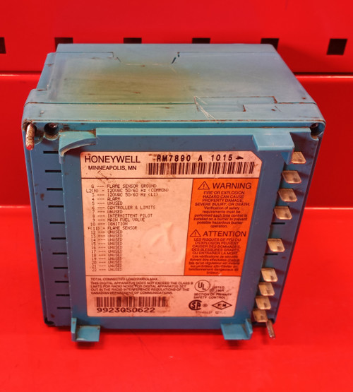Honeywell RM7890A1015 Automatic Primary Control USED