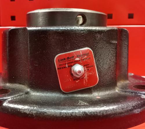 """Link-Belt FB22447H 4-Bolt Round Flange Block Bearing 2-15/16"""""""