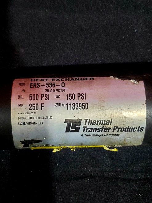 Thermal Transfer Products EKS-536-0 Heat Exchanger