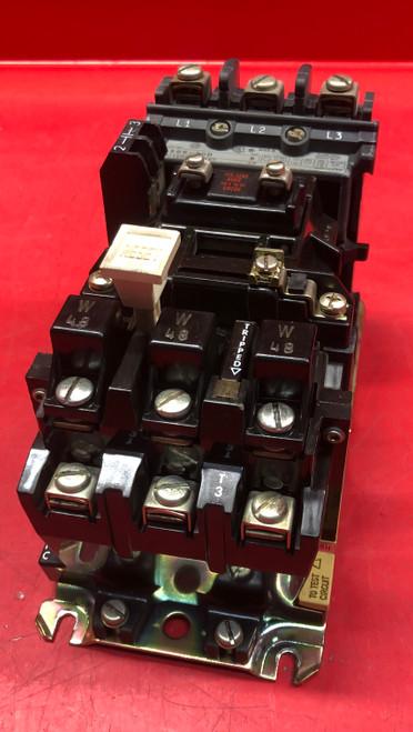 Allen Bradley 509-AOD Starter - Size 0 Series B w/48W Heaters & Aux Contact