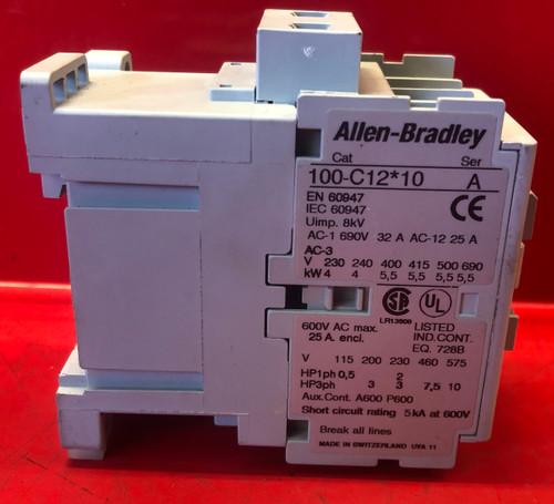 Allen-Bradley 100-C12*10 Contactor